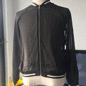 ultra thin layer zip jacket.